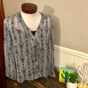 Maurice's Sheer Blouse